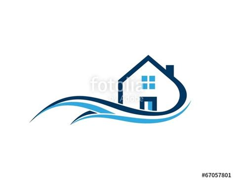 Home Design Logo quot house real estate home architecture business logo