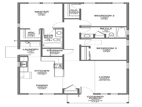 simple 4 bedroom floor plans simple 4 bedroom floor plans 28 images simple house