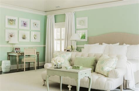 mint green bedroom ideas mint green bedrooms cottage bedroom brookes and hill