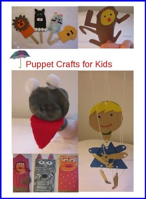 puppet craft for puppet crafts for