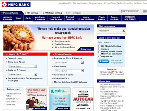 make payment of hdfc credit card hdfc card login to hdfcbank for credit card bill
