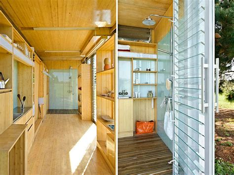 interior design shipping container homes compact and sustainable port a bach shipping container home