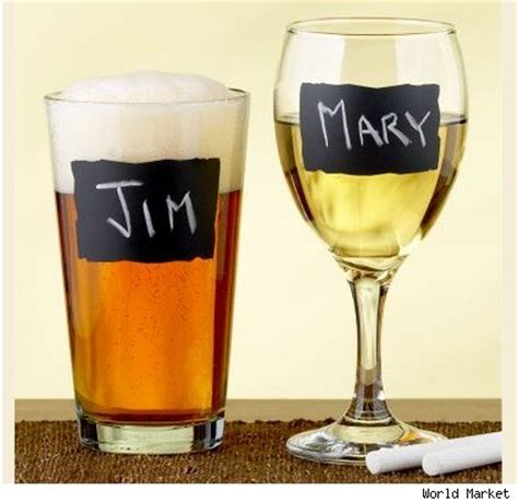 diy chalkboard label wine glasses a for my thoughts chalkboard labels for wine glasses