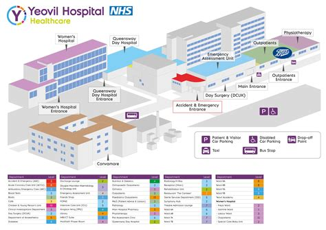 floor plan of a hospital map and floor plan of hospital yeovil district hospital