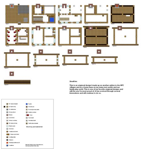 minecraft floor plan maker minecraft floorplans small inn by coltcoyote on deviantart