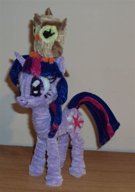 how to make things out of pony equestria daily mlp stuff pipecleaner ponies