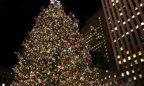 der weihnachtsbaum weihnachtlich der weihnachtsbaum am rockefeller center