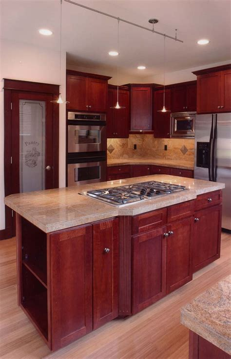 kitchen island with stove top 98 best kitchen stoves countertops designs images on