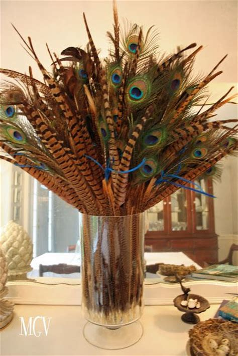 peacock feather home decor 17 best ideas about pheasant feathers on
