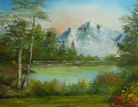 bob ross paintings up experience the of painting the bob ross way sign up