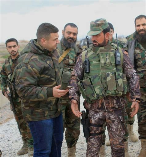 Prominent Syrian Army Commander Arrives In Northern Hama
