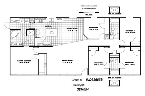 5 bedroom mobile homes floor plans 5 bedroom mobile homes floor plans photos and