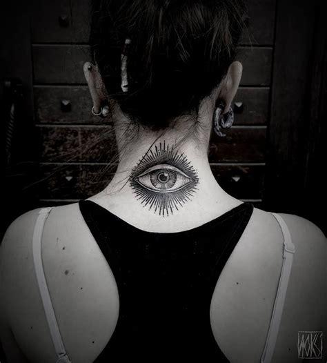 eye neck tattoo best tattoo design ideas