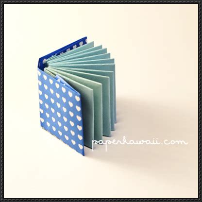 modular origami book how to make a mini modular origami book