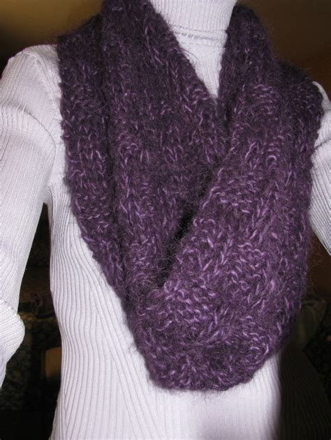 easy infinity scarf knit pattern soft and deliciously warm cowl scarf knitting pattern