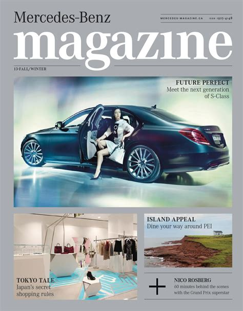 Mercedes Magazine by Mercedes Magazine Fall Winter 2013 By Spafax Canada