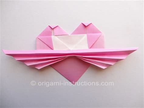 origami with wings step by step origami with pleated wings folding