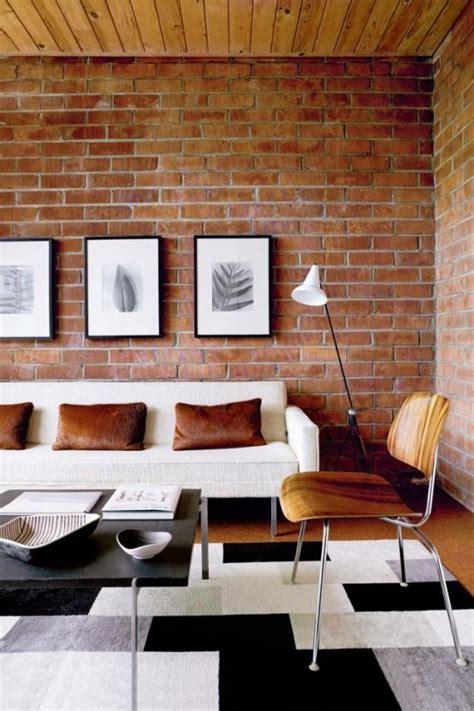 livingroom wall 20 exposed brick walls in modern living rooms rilane