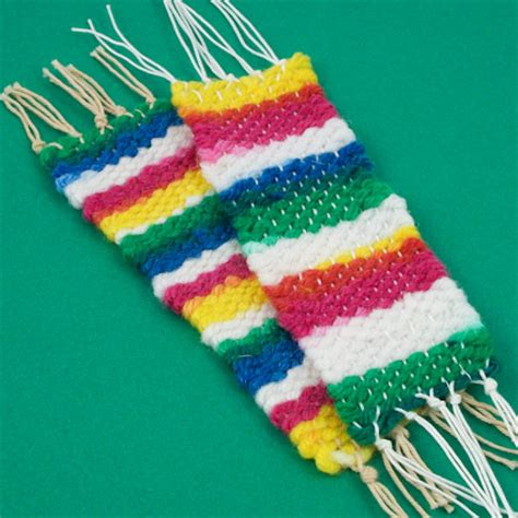 Make A Handwoven Bookmark Needle And Thread Crafts