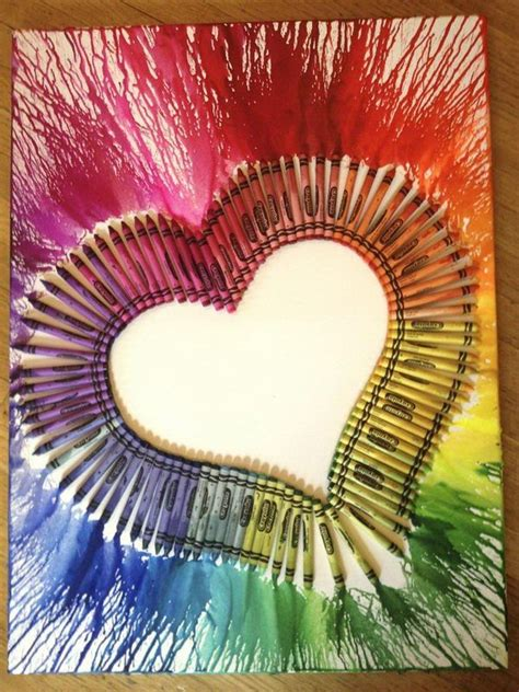 crayon crafts for 25 best ideas about melted crayon on