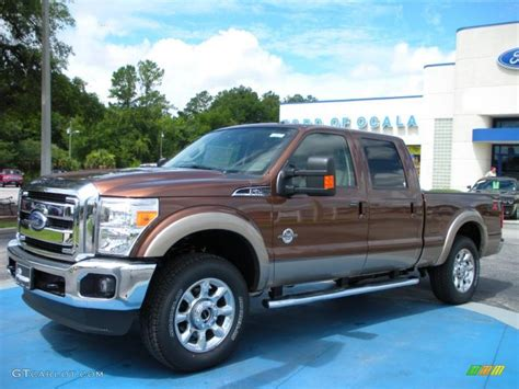 2011 Ford F250 by 2011 Golden Bronze Metallic Ford F250 Duty Lariat