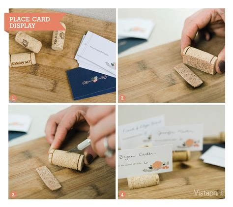 how to make place card holders 30 wine corks country wedding ideas with tutorials