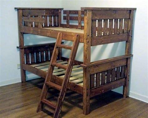 low cost bunk beds 25 best ideas about pallet loft bed on