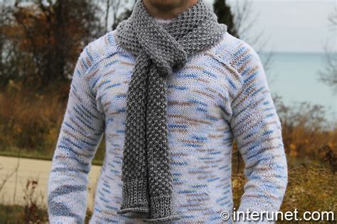 simple mens scarf knitting pattern scarf knitting patterns for guys crochet and knit