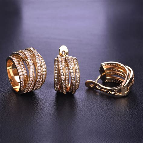 high quality jewelry high quality luxury jewelry sets earrings ring sets shiny
