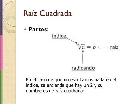 s mbolo ra z cuadrada raiz de n simbolo raices cuadradas y cubicas