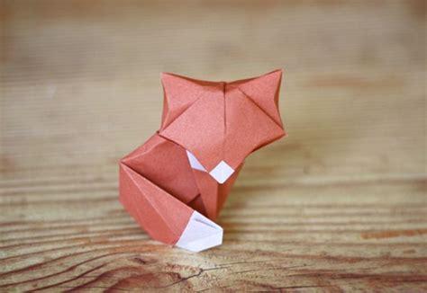 kawaii origami origami fox randommization
