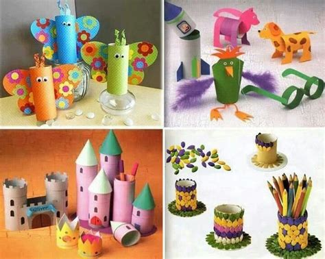 crafts using paper towel rolls paper towel toilet craft preschool toilet paper