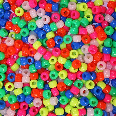 pony bead neon pony for bird toys