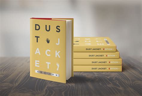 for book book mock up dust jacket edition punedesign