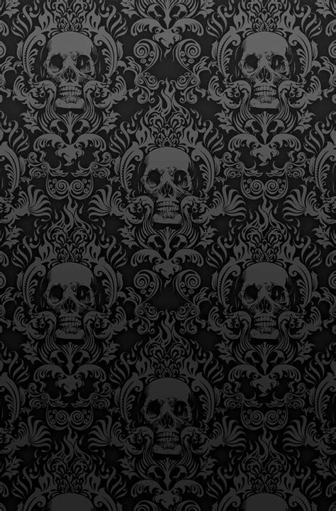 photo collection dark skull wallpaper 02