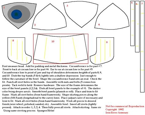 for to make free how to make a spangenhelm