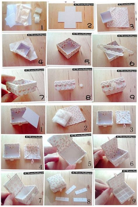 how to make jewelry gift boxes how to make lovely jewelry box step by step diy tutorial
