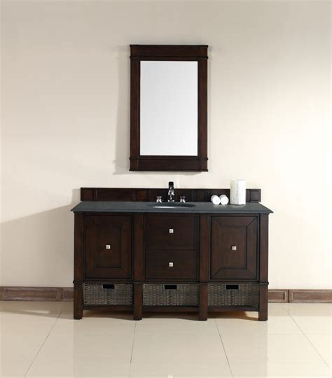 bathroom vanity 60 sink 60 inch single sink bathroom vanity in burnished mahogany