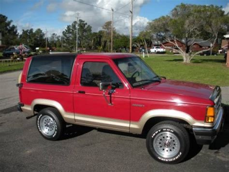 electric and cars manual 1990 ford bronco seat position control 1990 ford bronco ii 6 cylinders auto for sale in cambria ca