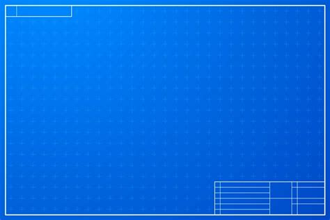 layout template in blueprint style illustrations