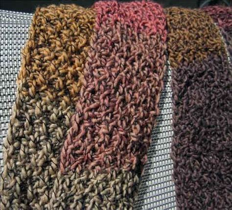 how to knit seed stitch scarf loom knitting stitches loom knit seed stitch