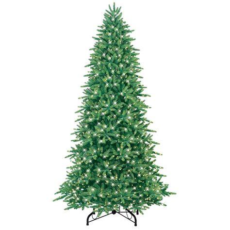 ge artificial tree ge ornaments decor 9 ft just cut fraser fir ez