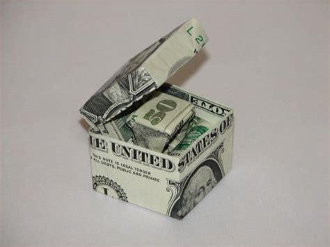 origami dollar bill box best 25 money origami ideas on folding money
