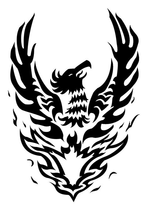 phoenix tattoo vector by dimensionten on deviantart