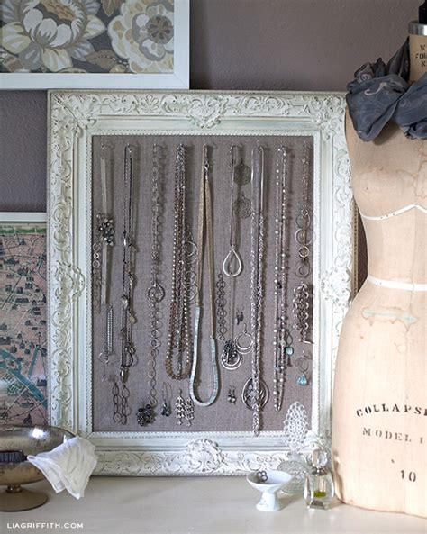 how to make jewelry displays diy antiqued frame jewelry display