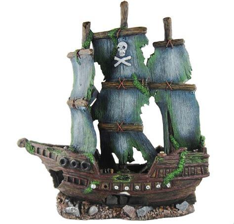 pirate ship decoration sunken pirate ship fish tank ornament aquarium decoration