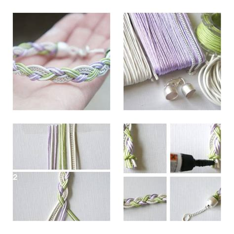 step by step jewelry how to make simple beautiful bracelet step by step diy