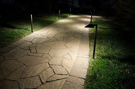 landscape lighting lumens landscape led path lights w offset 5 quot square light 1 watt 5 watt equivalent 22
