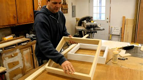 woodworking at home woodworking how to make a wood picture frame with