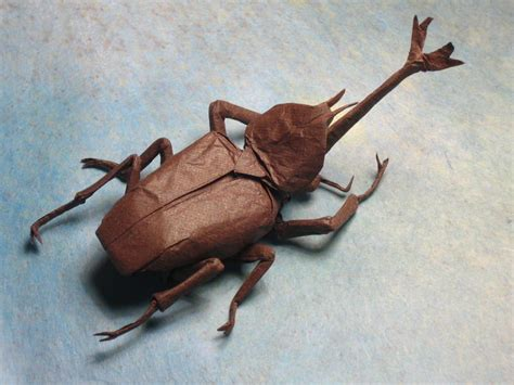 origami beetle brian chan s origami gallery